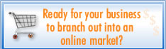Ready for your business to branch out into an online market?